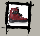 VALO BS.1 LIGHT OXBLOOD BOOT