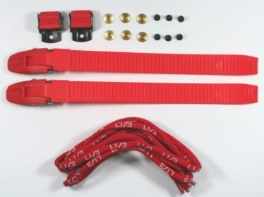 USD BUCKLE SET red