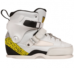 Роликовые коньки USD CARBON FREE TEAM (boot only) white/yellow 2