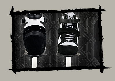 USD IMPERIAL COMPLETE BLACK/WHITE SIZE-40